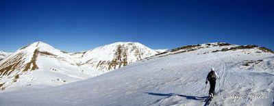 Panorama5 001 - Tuca de Urmella, powder en Cerler, Valle de Benasque.