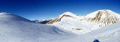 Panorama6 001 - Tuca de Urmella, powder en Cerler, Valle de Benasque.