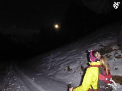P1320742 - Powder & Luna Llena, perfect day ... Cerler