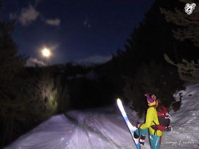 P1320752 - Powder & Luna Llena, perfect day ... Cerler