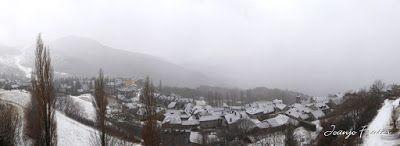 Panorama1 001 3 - Ya tocaba, vuelve a nevar en Cerler, Valle de Benasque.