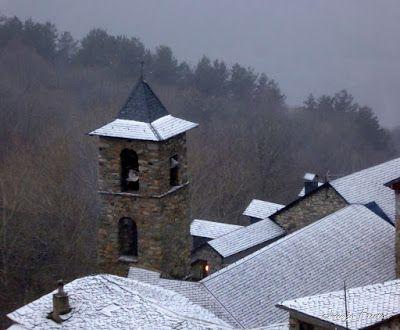 Panorama1 1 - Ya tocaba, vuelve a nevar en Cerler, Valle de Benasque.