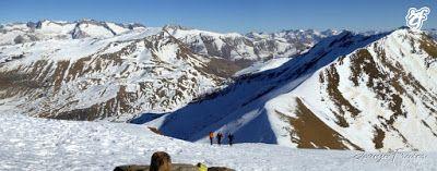 Panorama2 001 3 - Año nuevo en el Pico Gallinero, Cerler.