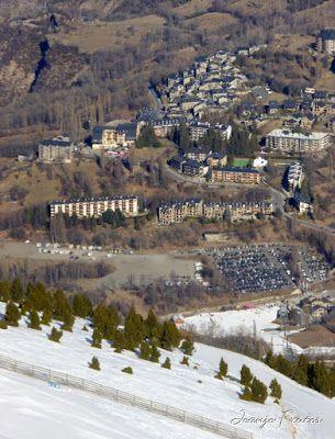 Panorama2 1 - Viento ... skimo en Cerler, Valle de Benasque.