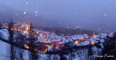 Panorama2 - Ya tocaba, vuelve a nevar en Cerler, Valle de Benasque.