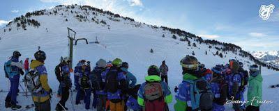 Panorama3 001 - Podium en El Dorado Freeride por las chicas de Cerler.