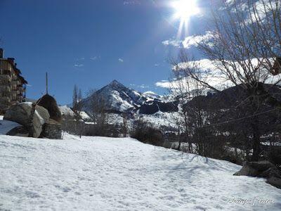 P1000701 - Fotos del Valle de Benasque, pedazo de febrero en Cerler..