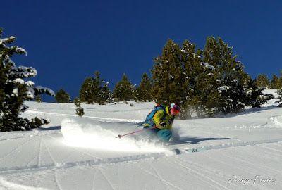 P1010078 - Otro día más con muy buena nieve en Cerler.