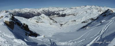 Panorama3 001 - Cibollés 2.749 m el bajadón de Cerler (Valle de Benasque)