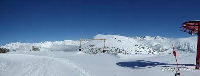 """Panorama7 - La vuelta del """"paketón"""" en Cerler, Valle de Benasque"""