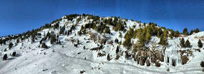 Panorama8 fhdr - Empieza febrero 2017, Cerler - Valle de Benasque