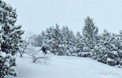 P1030028 fhdr - Nevada de invierno en Cerler, pero es primavera ...