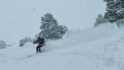 P1030038 fhdr - Nevada de invierno en Cerler, pero es primavera ...