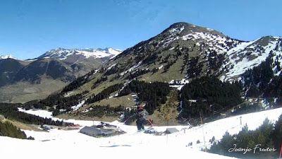 MOV 0015 002 - Acabando temporada tranquilos en Cerler, Valle de Benasque.