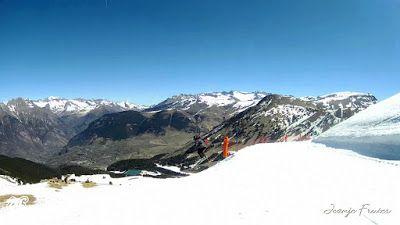 MOV 0015 - Acabando temporada tranquilos en Cerler, Valle de Benasque.