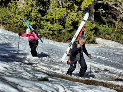 P1040281 fhdr 001 - Nos ha nevado en el pico de Castanesa, Valle de Benasque.