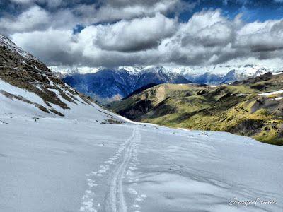 P1040291 fhdr 001 - Nos ha nevado en el pico de Castanesa, Valle de Benasque.