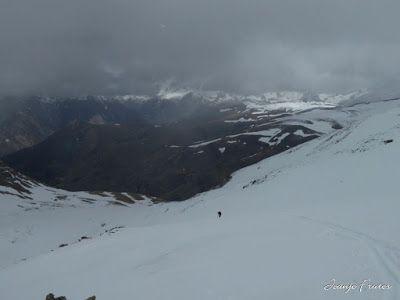 P1040300 - Nos ha nevado en el pico de Castanesa, Valle de Benasque.