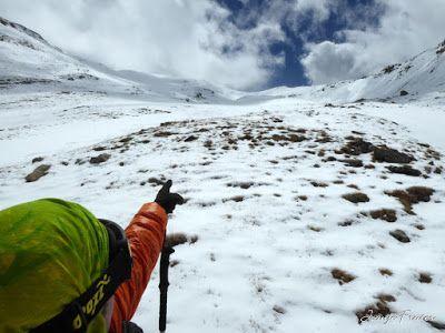 P1040358 - Nos ha nevado en el pico de Castanesa, Valle de Benasque.