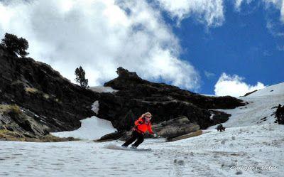 P1040434 fhdr 001 - Nos ha nevado en el pico de Castanesa, Valle de Benasque.