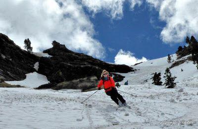 P1040435 fhdr 001 - Nos ha nevado en el pico de Castanesa, Valle de Benasque.