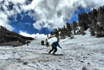 P1040444 fhdr 001 - Nos ha nevado en el pico de Castanesa, Valle de Benasque.