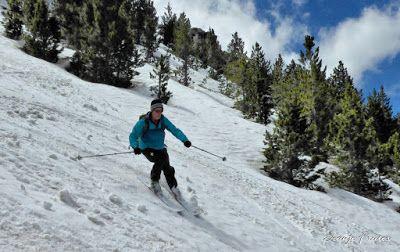 P1040445 fhdr 001 - Nos ha nevado en el pico de Castanesa, Valle de Benasque.