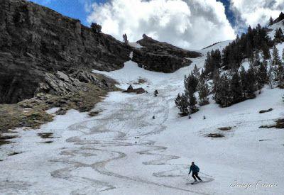 P1040460 fhdr 001 - Nos ha nevado en el pico de Castanesa, Valle de Benasque.