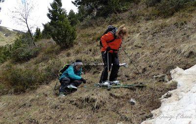 P1040498 - Nos ha nevado en el pico de Castanesa, Valle de Benasque.