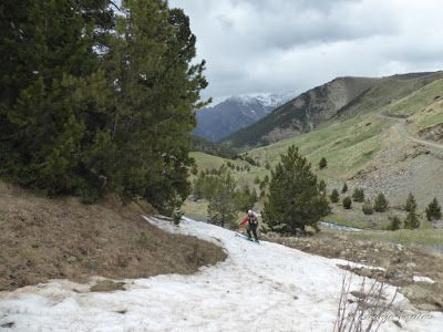 P1040507 - Nos ha nevado en el pico de Castanesa, Valle de Benasque.