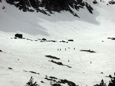 P1040807 - Romería en el Aneto, vistas desde Aigualluts, Pirineo.
