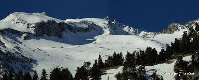 Panorama1 001 1 - Maladetas desde La Besurta, Pirineo Aragonés.