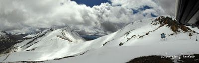 Panorama1 001 3 - Otro Gallinero más con ligera nevada arriba, Cerler.