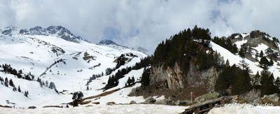 Panorama1 - Encuentros mientras vas a La Renclusa, Valle de Benasque