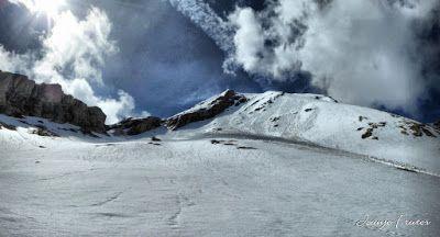 Panorama2 001 fhdr - Clots de Ampriu, debajo del Tozal del Portet, Cerler
