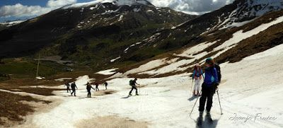 Panorama20 - Otro Gallinero más con ligera nevada arriba, Cerler.