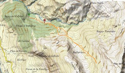 mapaskimorealizado - Nos ha nevado en el pico de Castanesa, Valle de Benasque.