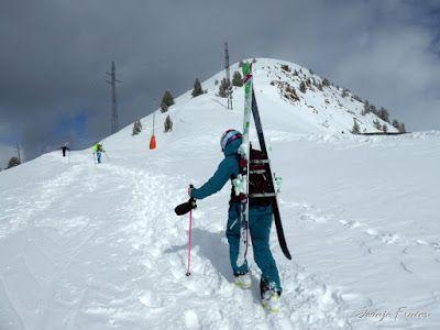 P1000568 - Ocho meses con esquís en el Valle de Benasque. Resumen.