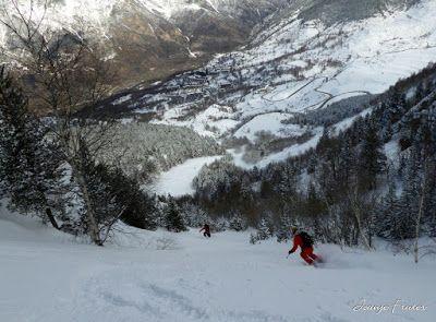 P1020302 - Ocho meses con esquís en el Valle de Benasque. Resumen.