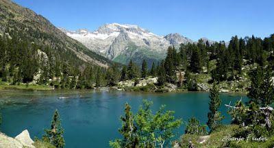 Panorama27 001 - Ibónes de la Escarpinosa, Montes de Estós, Valle de Benasque. Pirineo.