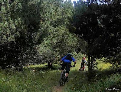 141 1 - Picalbo en Enduro, paisaje y bajada de vértigo. 2ª parte