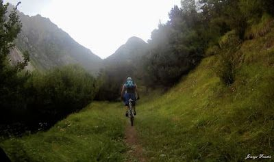154 1 - Picalbo en Enduro, paisaje y bajada de vértigo. 2ª parte