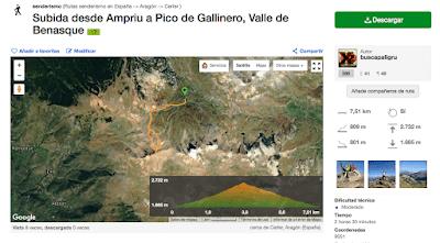 Capturadepantalla2017 08 20ala28s2918.14.20 - Pico Gallinero, Cerler (Valle de Benasque)