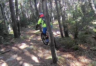 207 - Pllanadona un lujo de sendero en el Valle de Benasque.