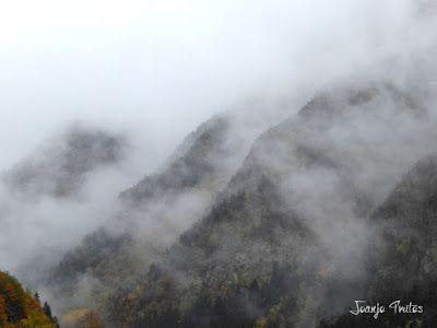 """P1080488 - Del """"veroño"""" a ver nieve de nuevo en el Valle de Benasque."""