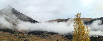 """P1080512 - Del """"veroño"""" a ver nieve de nuevo en el Valle de Benasque."""