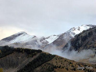 """P1080515 - Del """"veroño"""" a ver nieve de nuevo en el Valle de Benasque."""
