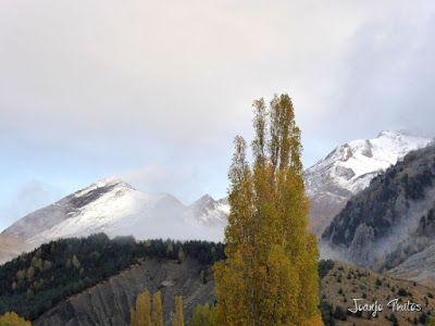 """P1080520 - Del """"veroño"""" a ver nieve de nuevo en el Valle de Benasque."""