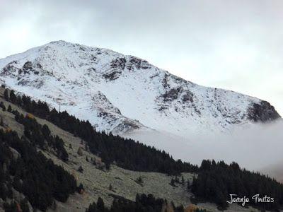 """P1080527 - Del """"veroño"""" a ver nieve de nuevo en el Valle de Benasque."""