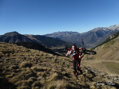 P1080665 - Enduro por Sierra Negra en Cerler, Valle de Benasque.